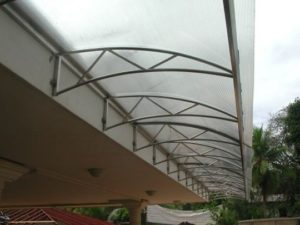 polycarbonate awnings manufacurer